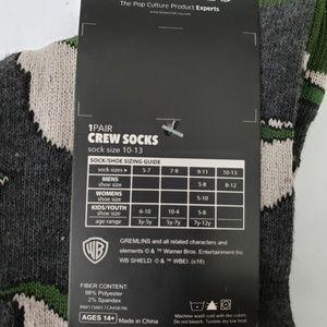 Warner Bros. Underwear & Socks - Gremlins mens crew socks